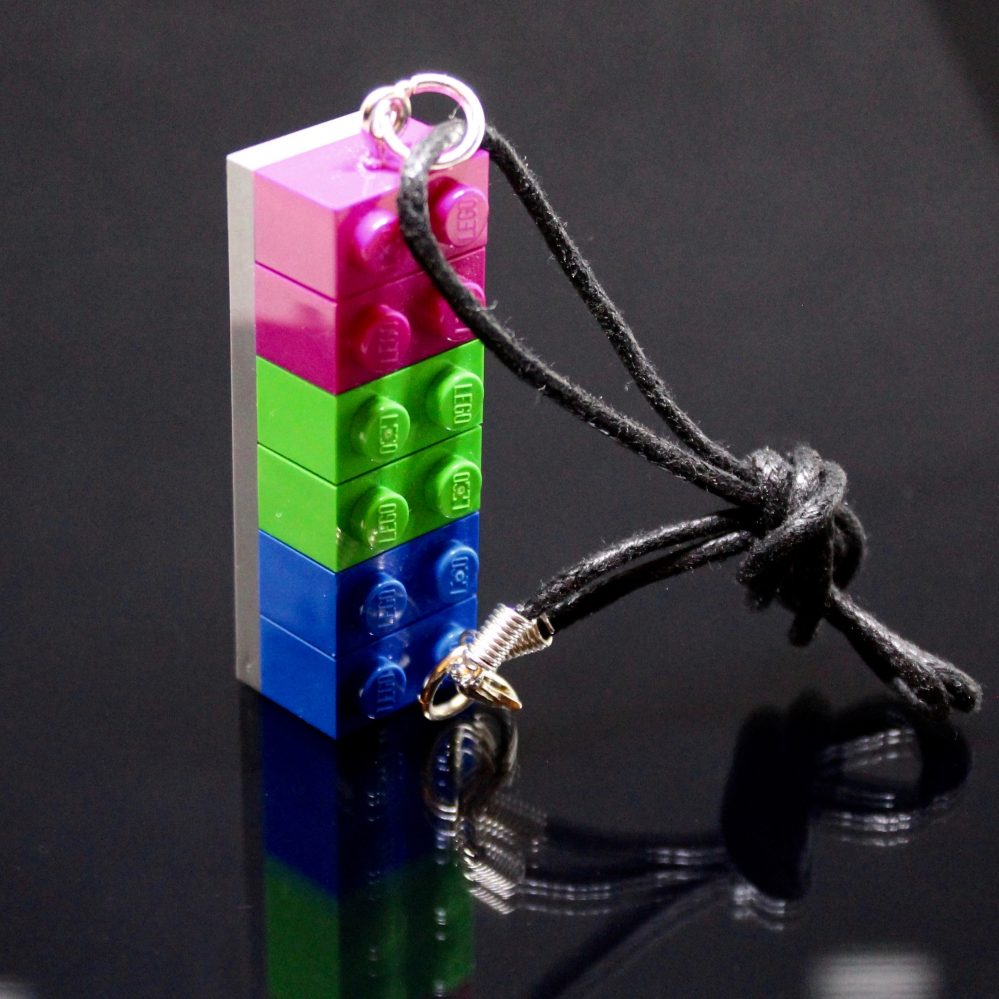 LEGO Pansexual Necklace