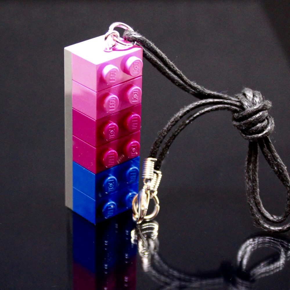 LEGO Bisexual Necklace