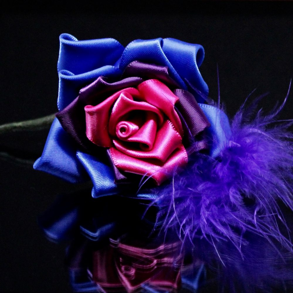 bisexual rose buttonhole