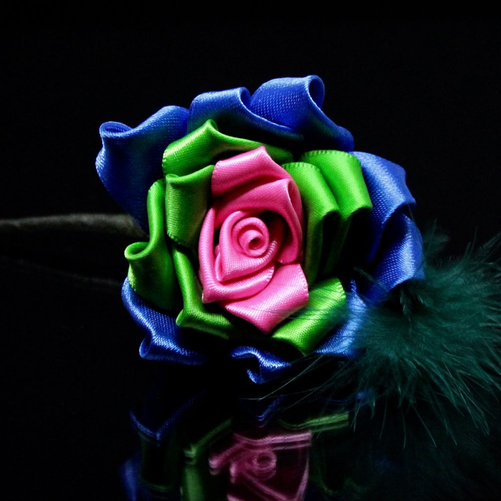 Polysexual rose buttonhole