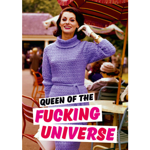queen of the universe card